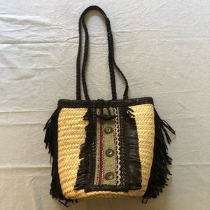 EnShalla shoulder basket bag